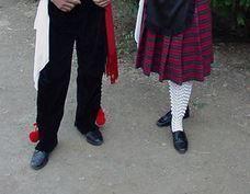 Zapato Mujer Folclore Extremeña