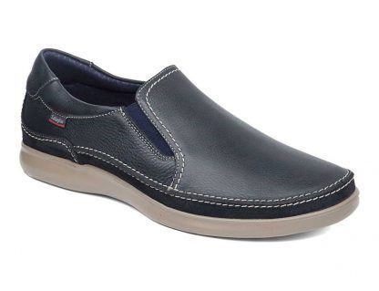 Zapato Callaghan 11201 cuero-marino