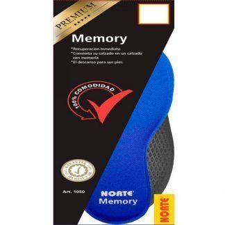 Plantillas memory foam