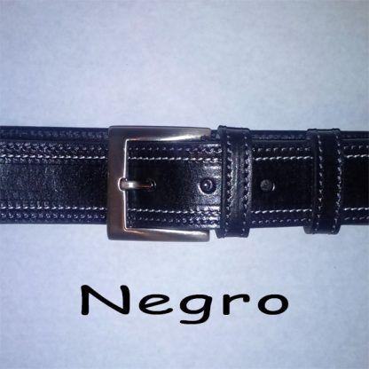 Cinturon Vaqueta doble costura