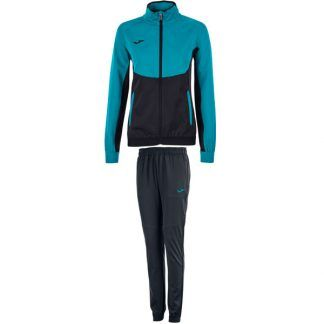 JOMA CHANDAL ESSENTIAL MICRO NEGRO-TURQ MUJER