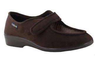 Zapatillas Cosdam 0252 anchas-especiales marrón