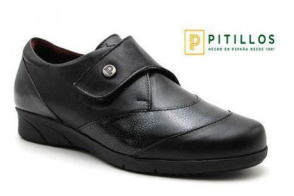 Zapatos velcro Pitillos 2803 negro