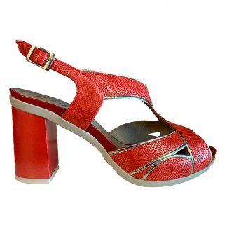 Sandalia Pitillos 5582 rojo