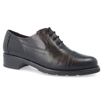 Zapatos Pitillos 5840 cuero-negro