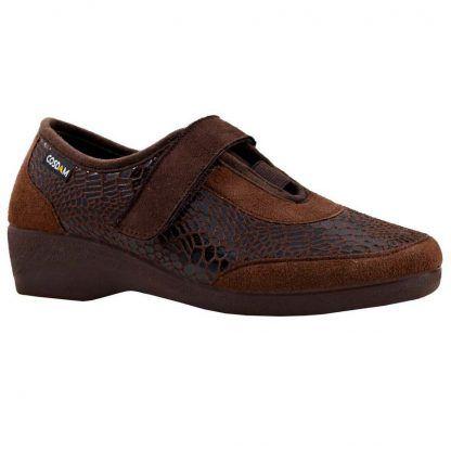 Zapatillas Cosdam 2551 marrón