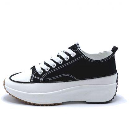 Zapatillas Lona Plataforma Pronto-moda